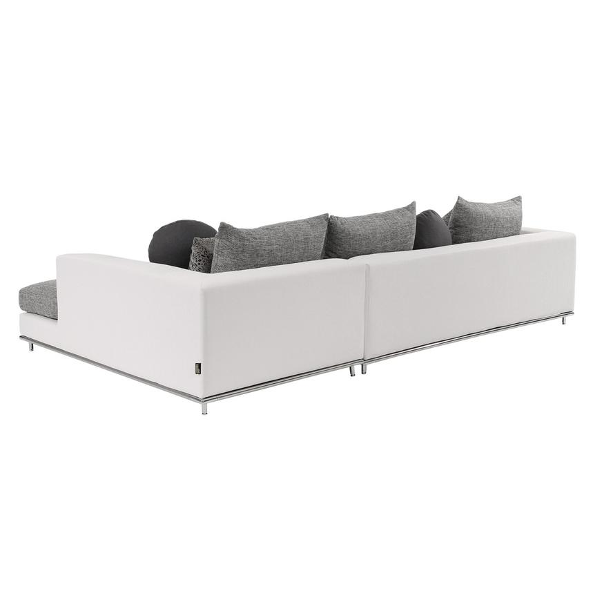 Hanna Sectional Sofa w/Right Chaise  alternate image, 6 of 10 images.