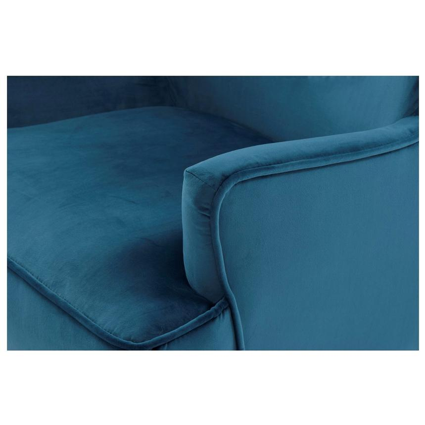 Zita Blue Accent Chair  alternate image, 5 of 6 images.