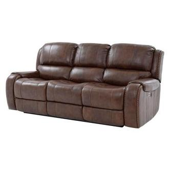 Durham Power Motion Leather Sofa