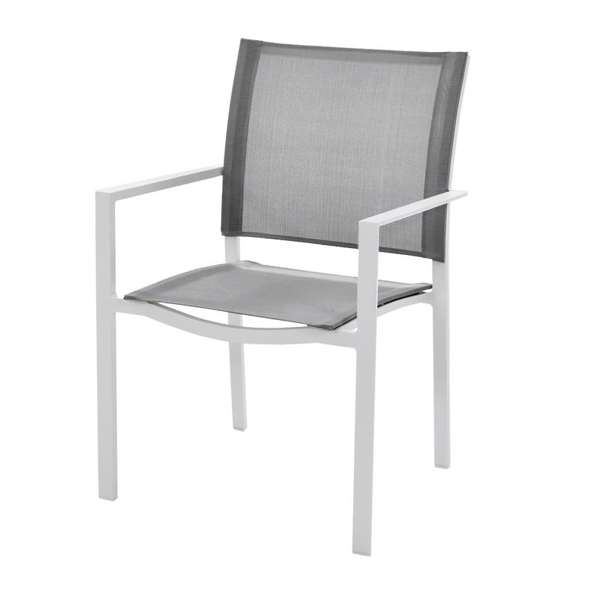 Mykonos Gray Dining Chair  main image, 1 of 3 images.