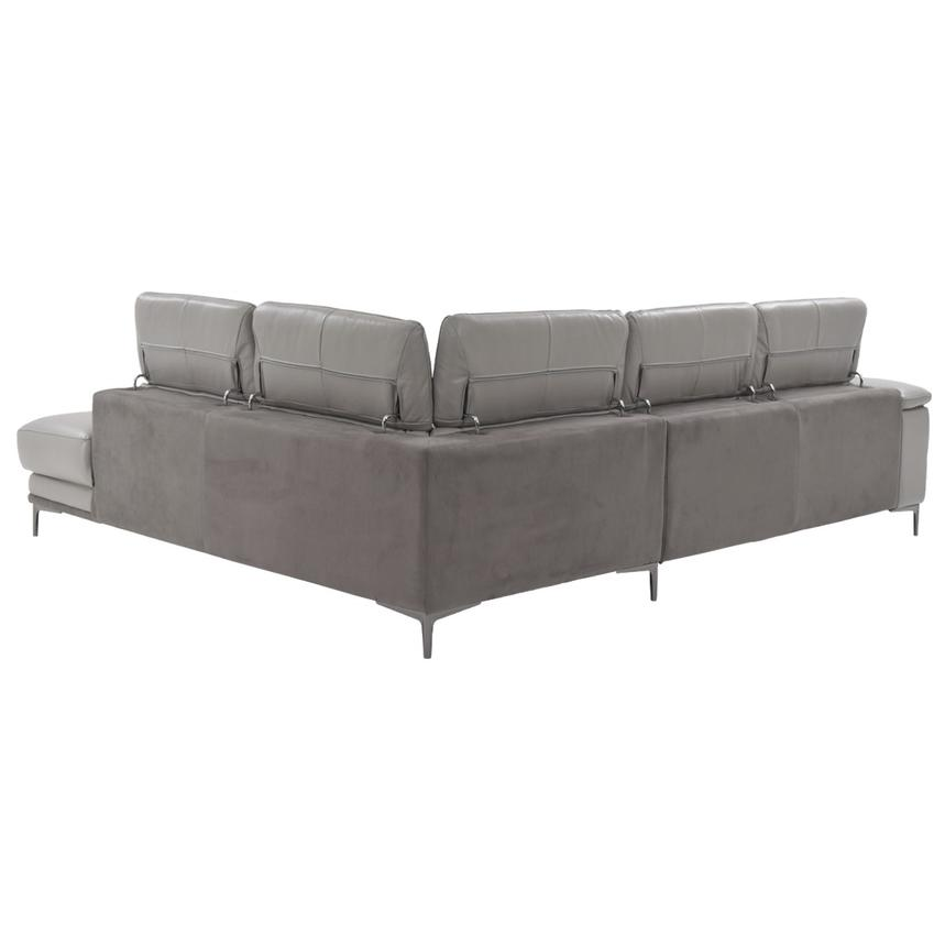 Richardson Leather Power Reclining Sofa w/Right Chaise  alternate image, 5 of 12 images.
