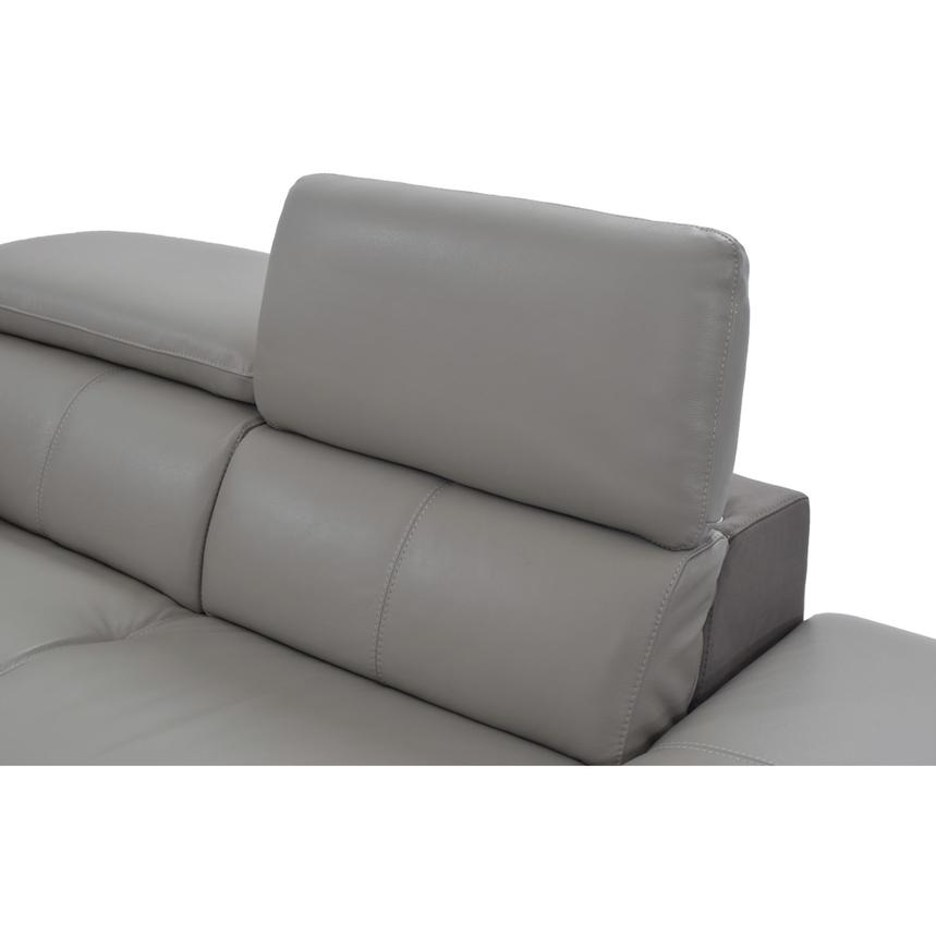 Richardson Power Motion Leather Sofa w/Right Chaise  alternate image, 5 of 8 images.