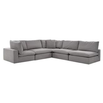 Nube II Gray Sectional Sofa