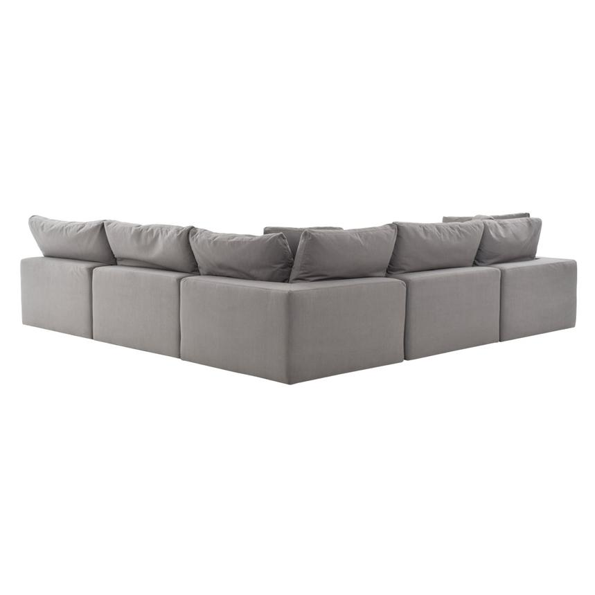 Nube II Gray Sectional Sofa  alternate image, 4 of 10 images.