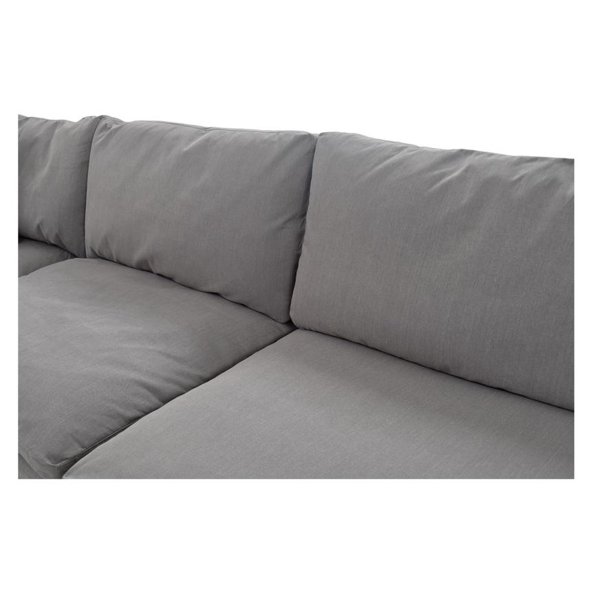 Nube II Gray Sectional Sofa  alternate image, 6 of 11 images.