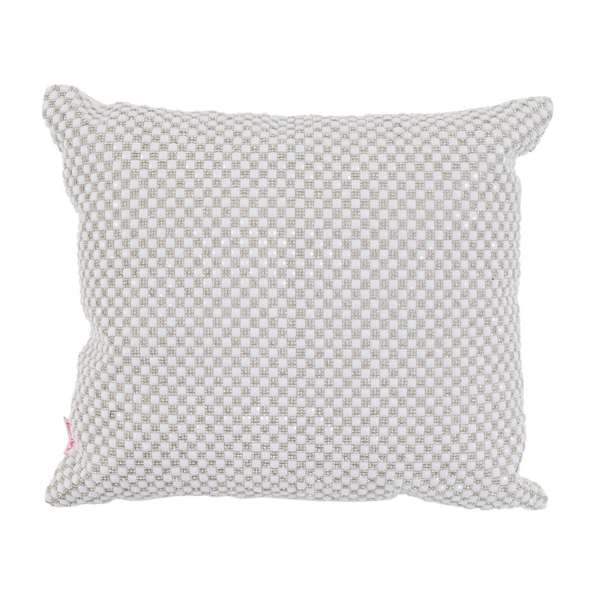 Dolce White Accent Pillow  main image, 1 of 2 images.
