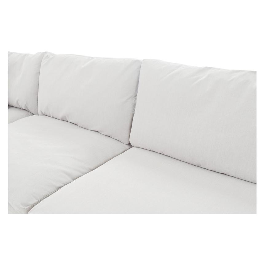 Nube II White Sectional Sofa  alternate image, 4 of 8 images.