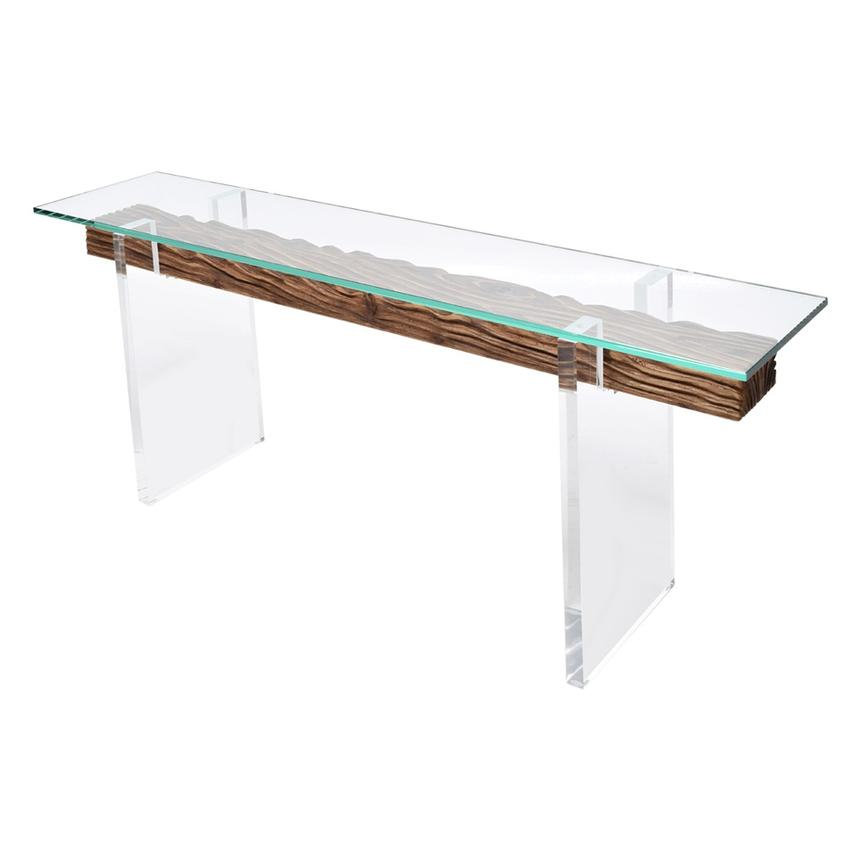 Miami Beach Natural Console Table  alternate image, 4 of 6 images.