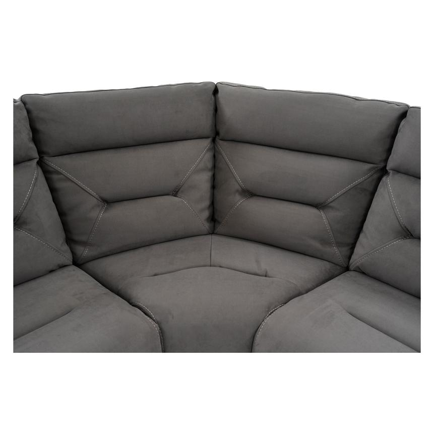 Kim Gray Power Motion Sofa w/Right & Left Recliners  alternate image, 5 of 12 images.