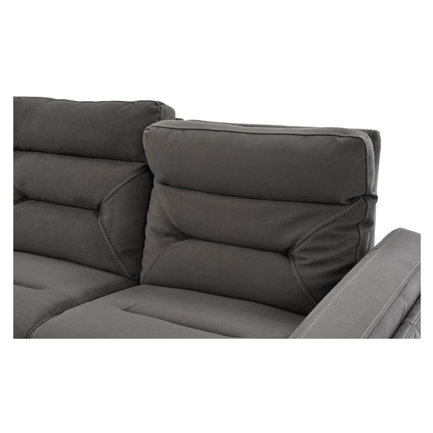 Kim Gray Power Motion Sofa w/Right & Left Recliners  alternate image, 10 of 12 images.