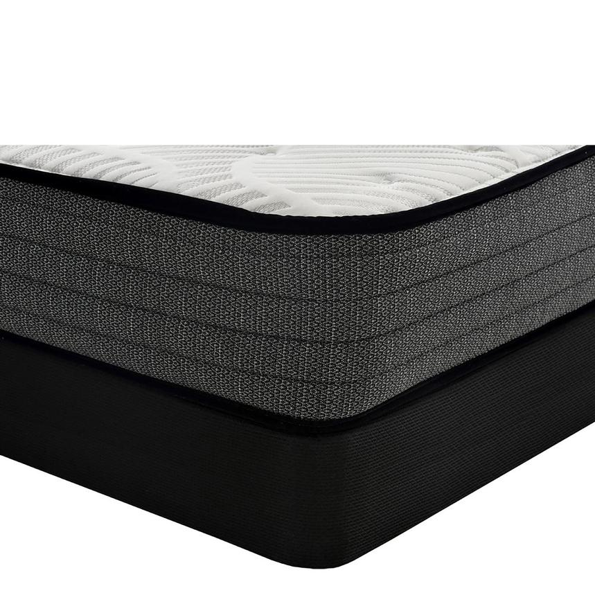Lovely Isle TT Twin Mattress w/Low Foundation  main image, 1 of 4 images.