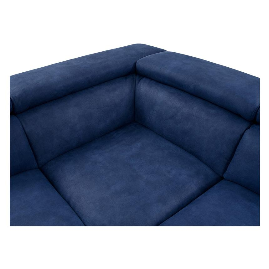 Kathan Blue Power Motion Sofa w/Right & Left Recliners  alternate image, 5 of 12 images.