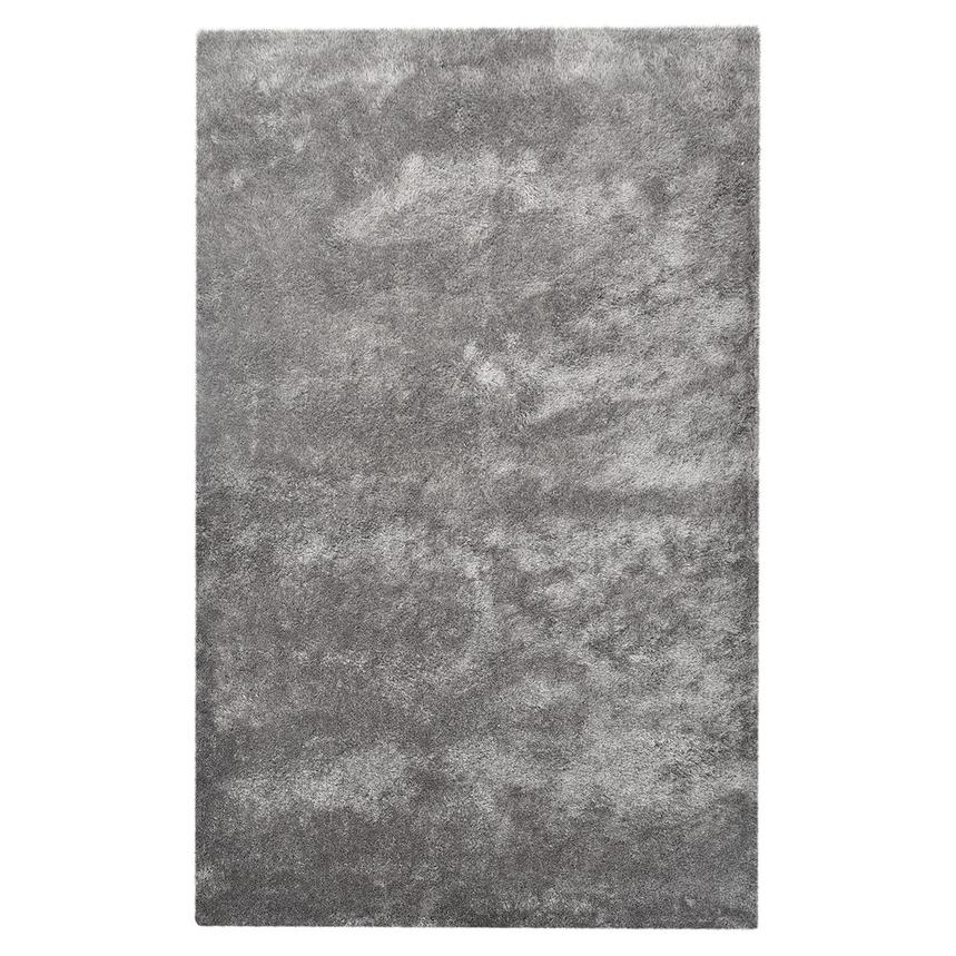 Chic Gray 5' x 8' Area Rug  main image, 1 of 2 images.