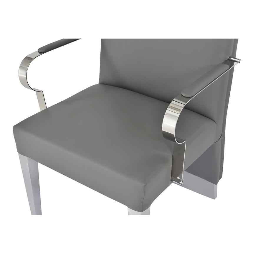 Ulysis Gray Arm Chair  alternate image, 4 of 6 images.