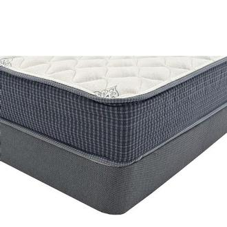 Pacific Heights Queen Mattress w/Low Foundation by Simmons Beautyrest Silver