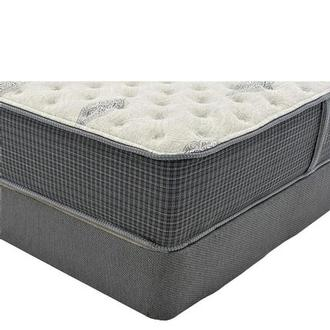 Bay Point King Mattress w/Low Foundation by Simmons Beautyrest Silver