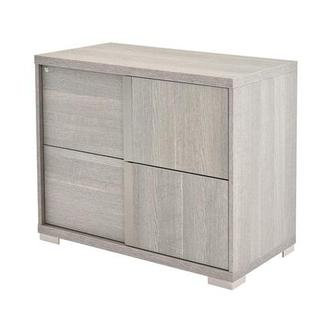 Tivo Gray Lateral File Cabinet