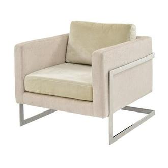Emma Cream Accent Chair