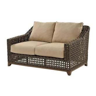Fortuna Brown Loveseat