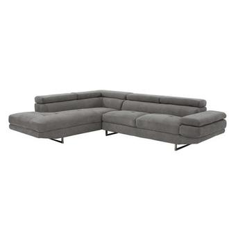 Taheri Gray Sofa w/Left Chaise