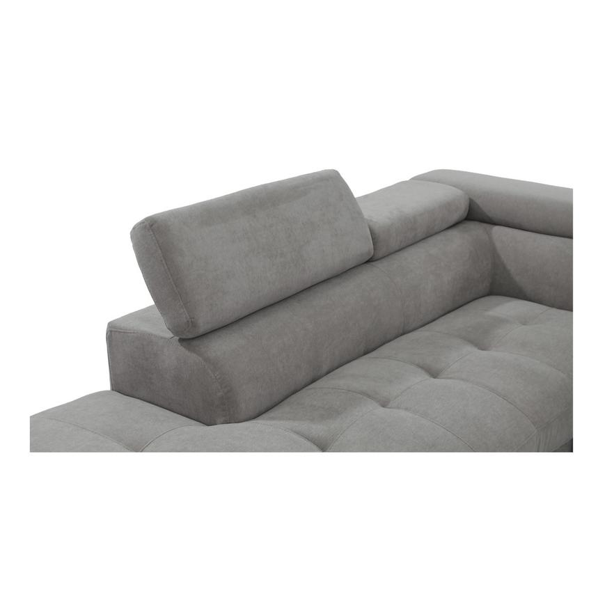 Taheri Gray Sofa w/Left Chaise  alternate image, 4 of 7 images.