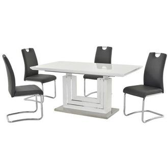 Lila Gray 5-Piece Casual Dining Set