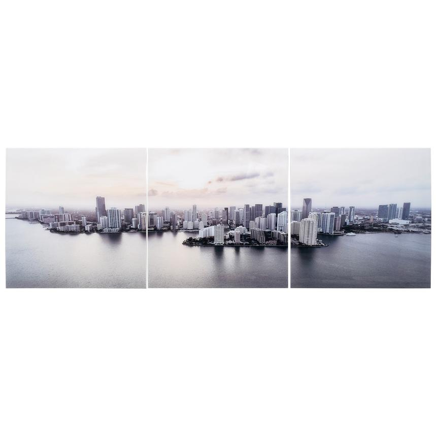 Edifici Set of 3 Acrylic Wall Art  main image, 1 of 4 images.