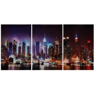 Skyline Set of 3 Acrylic Wall Art