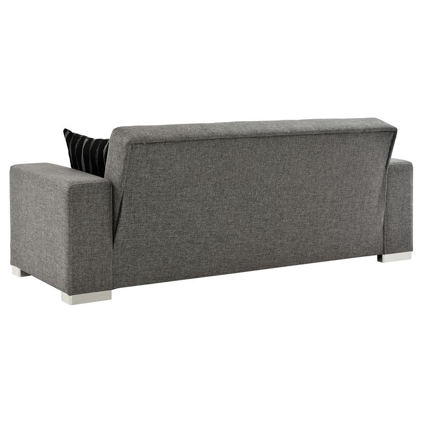Kobe Gray Futon Sofa  alternate image, 5 of 7 images.