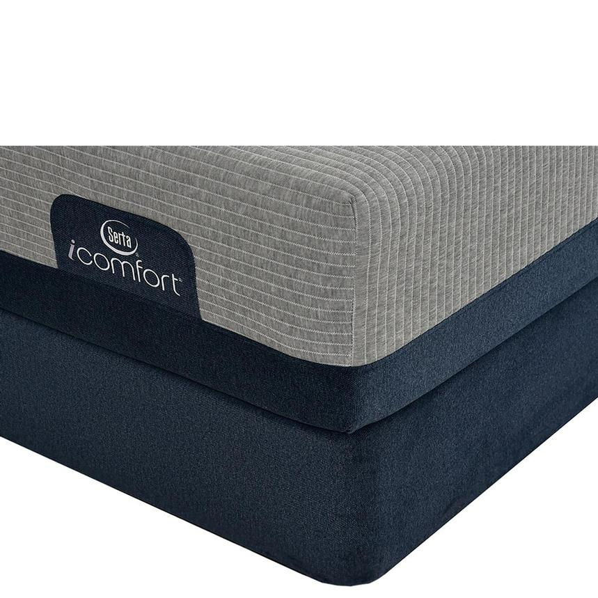 iComfort Blue Max 1000 Cushion Firm King Mattress w/Low Foundation by Serta  main image, 1 of 4 images.