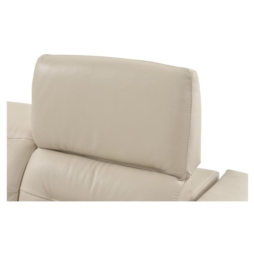 Anabel Cream Power Motion Leather Sofa w/Right & Left Recliners  alternate image, 10 of 13 images.