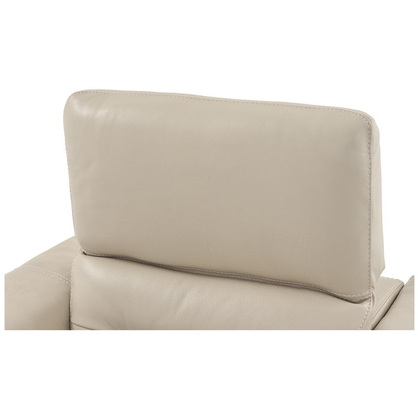 Anabel Cream Home Theater Leather Seating  alternate image, 11 of 16 images.