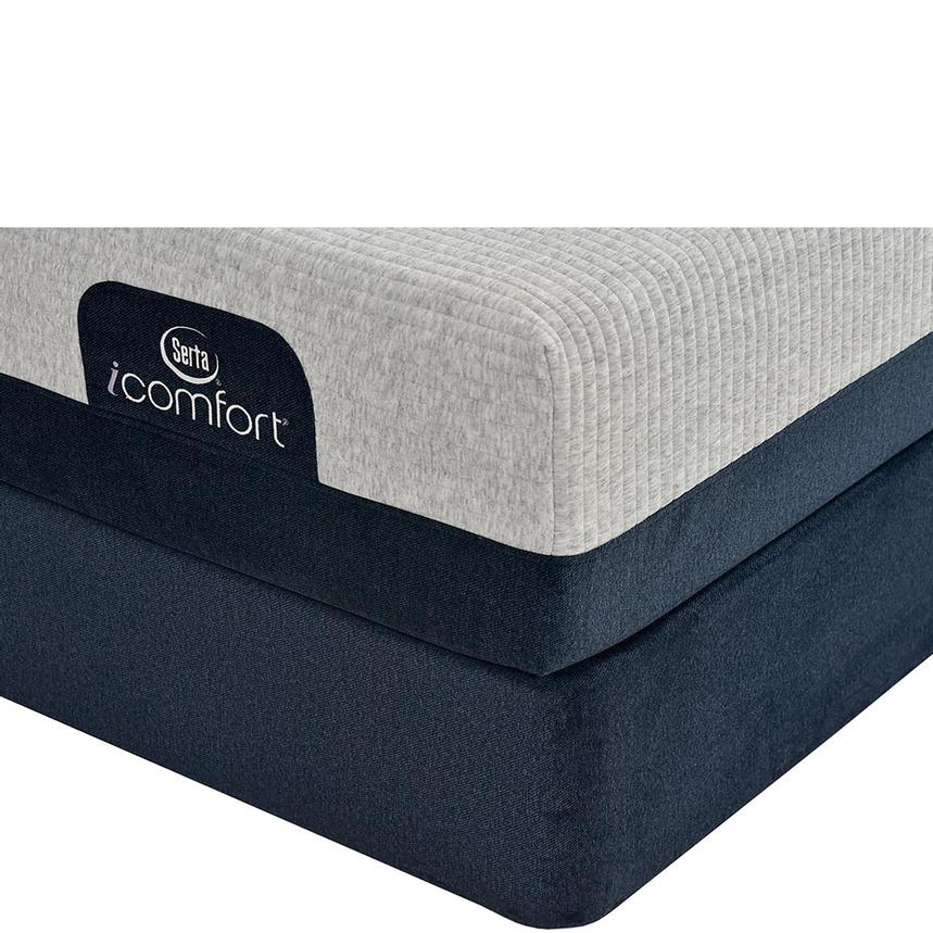 iComfort Blue 300 Twin XL Mattress w/Regular Foundation by Serta  main image, 1 of 4 images.