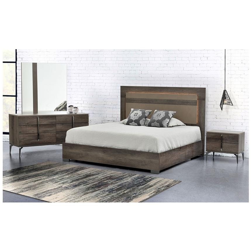 Matera Queen Platform Bed Made in Italy  alternate image, 4 of 7 images.