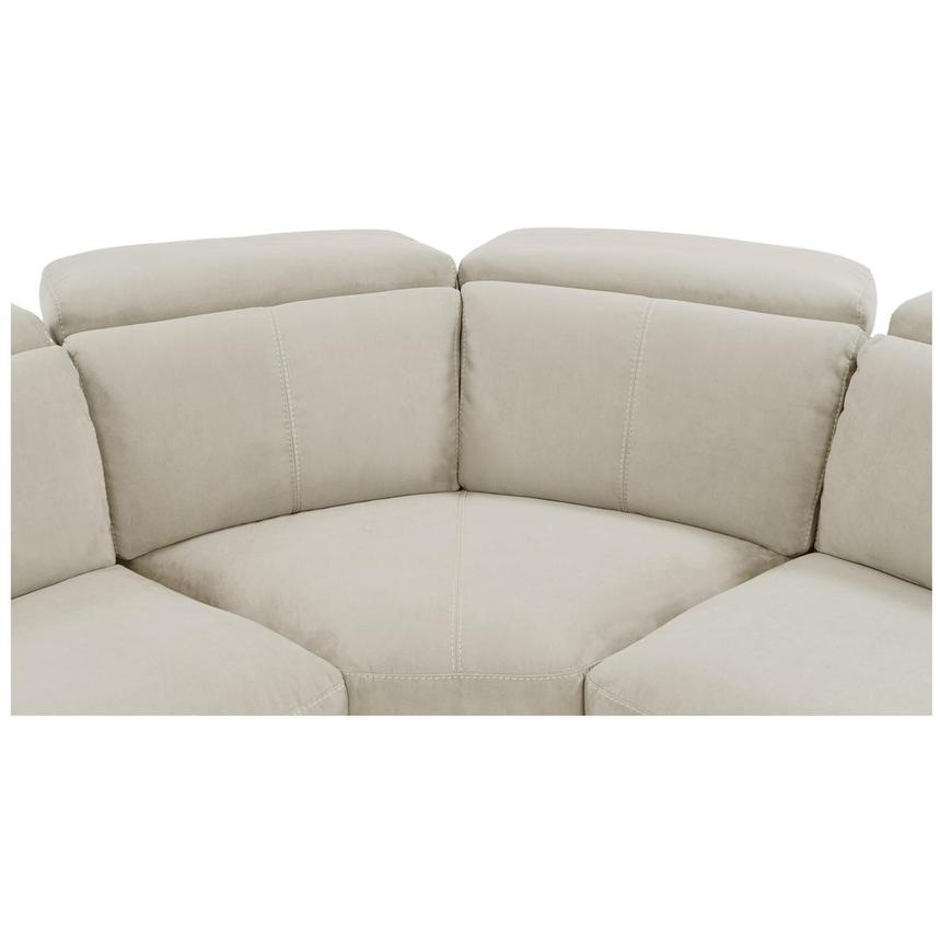 Jameson White Power Motion Sofa w/Right & Left Recliners  alternate image, 5 of 9 images.