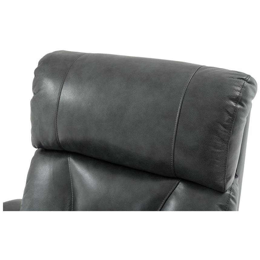 Gio Gray Leather Power Recliner  alternate image, 10 of 14 images.