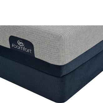 iComfort Blue Max 1000 Plush Twin XL Mattress w/Low Foundation by Serta