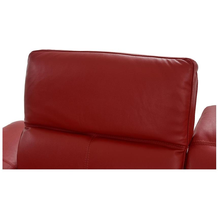 Toronto Red Leather Power Reclining Sofa w/Right Chaise  alternate image, 8 of 13 images.
