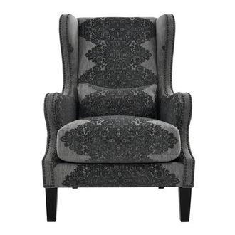 Sophia Black Accent Chair