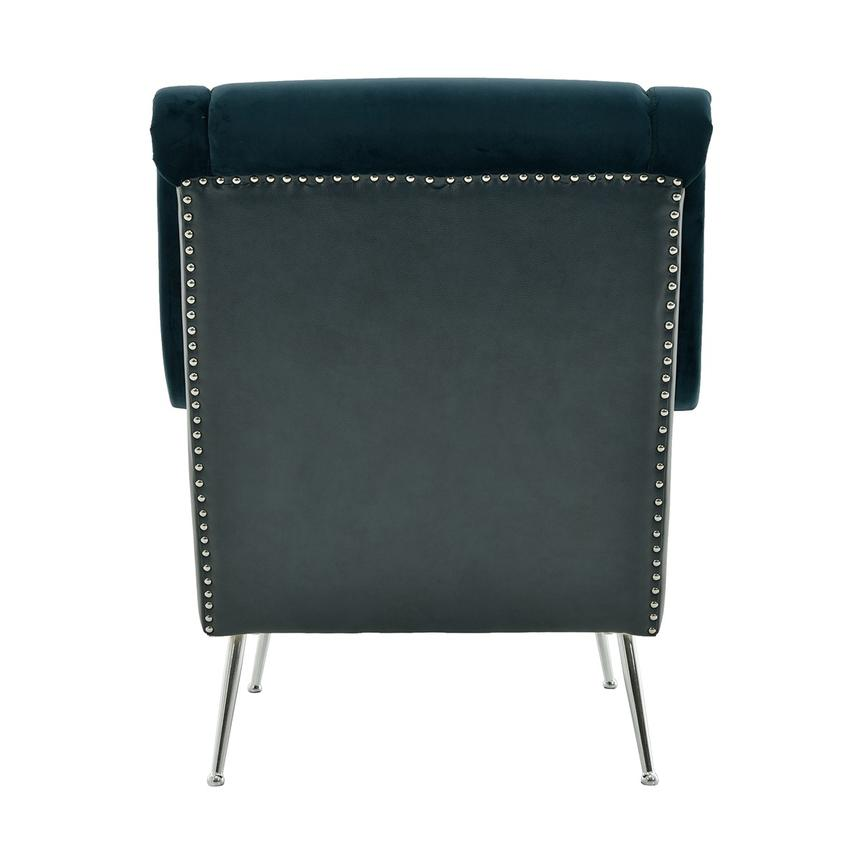 Morgan Blue Accent Chair  alternate image, 4 of 6 images.