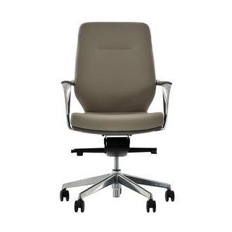 Yoshi Gray Low Back Desk Chair