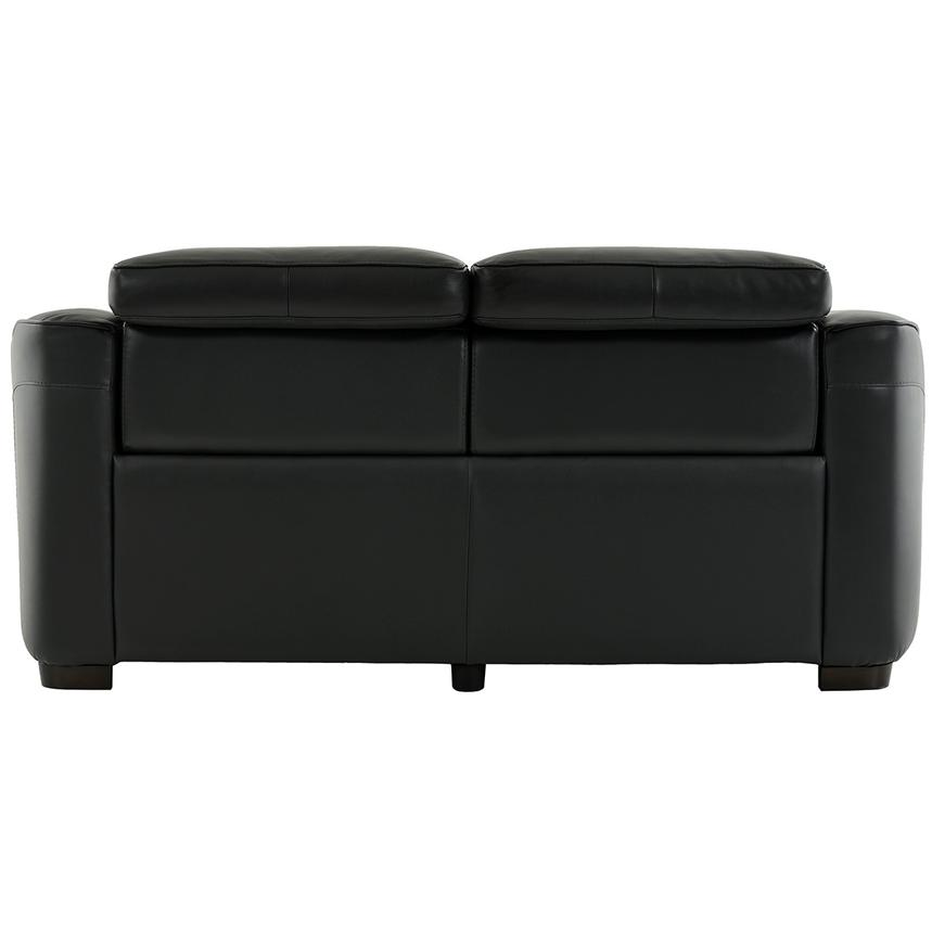 Jay Dark Gray Power Motion Leather Loveseat  alternate image, 5 of 7 images.