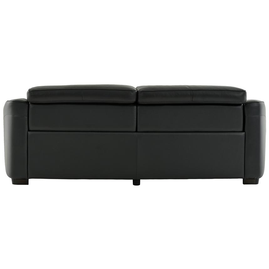 Jay Dark Gray Power Motion Leather Sofa  alternate image, 5 of 7 images.