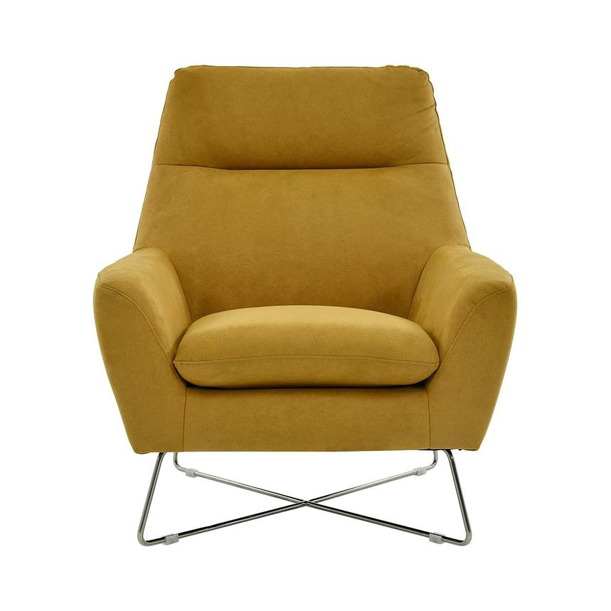 Grigio Yellow Accent Chair  main image, 1 of 8 images.