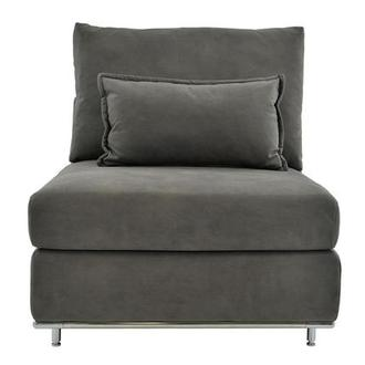 Grigio Armless Chair