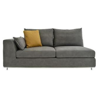 Grigio Gray Left Sofa
