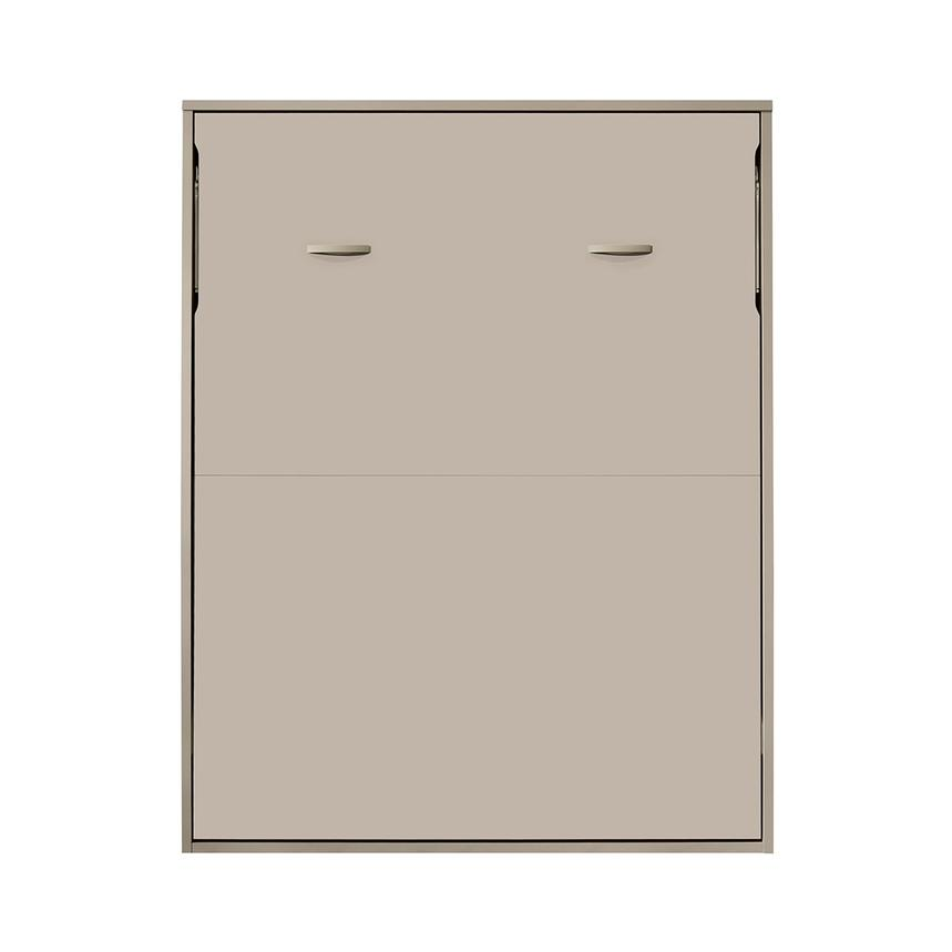 Organizer Taupe Queen Murphy Bed w/Mattress  alternate image, 6 of 7 images.