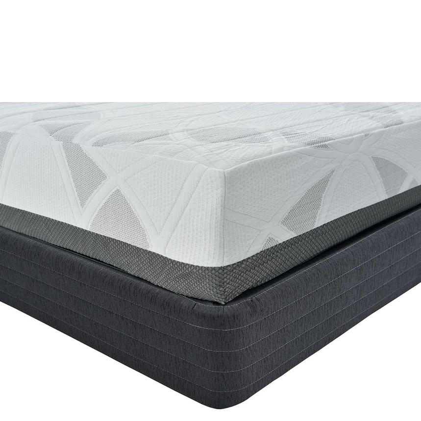 Etna Queen Memory Foam Mattress w/Regular Foundation by Carlo Perazzi  main image, 1 of 4 images.