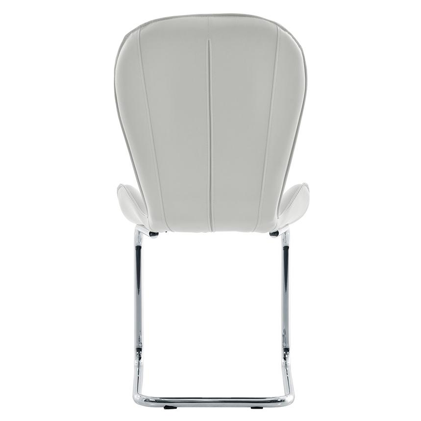 Latika White Side Chair  alternate image, 4 of 7 images.