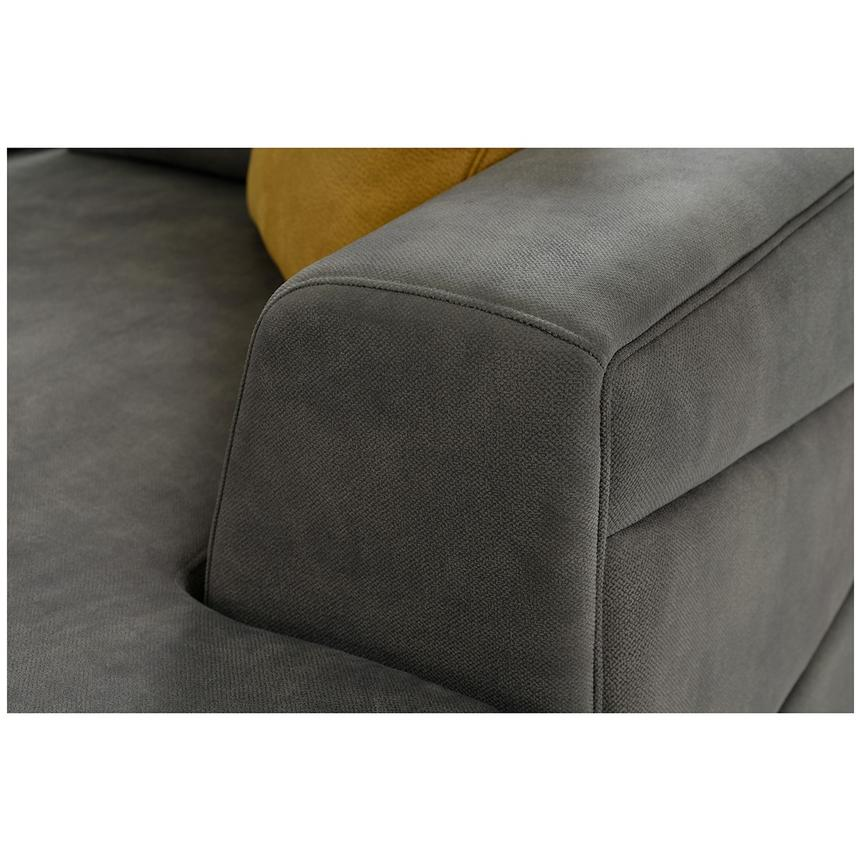Grigio Sectional Sofa w/Right Chaise  alternate image, 4 of 5 images.